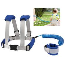 Toddler Cosy Traction Anti Lost Baby Safety Harness Leash Kids Walking Leash Backpack Harness Wrist Cuff Link Safety Lock