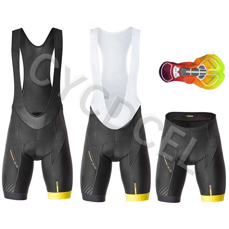 Mavic Pro Team 2020 Fietsen Bib Shorts Mtb Fiets Korte Broek Fiets Panty Met Zomer Coolmax 16D Gel Pad Hoogste kwaliteit