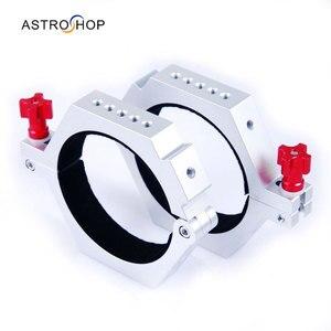 Image 1 - Anneaux de fixation pour Tube télescope (la paire) 166mm