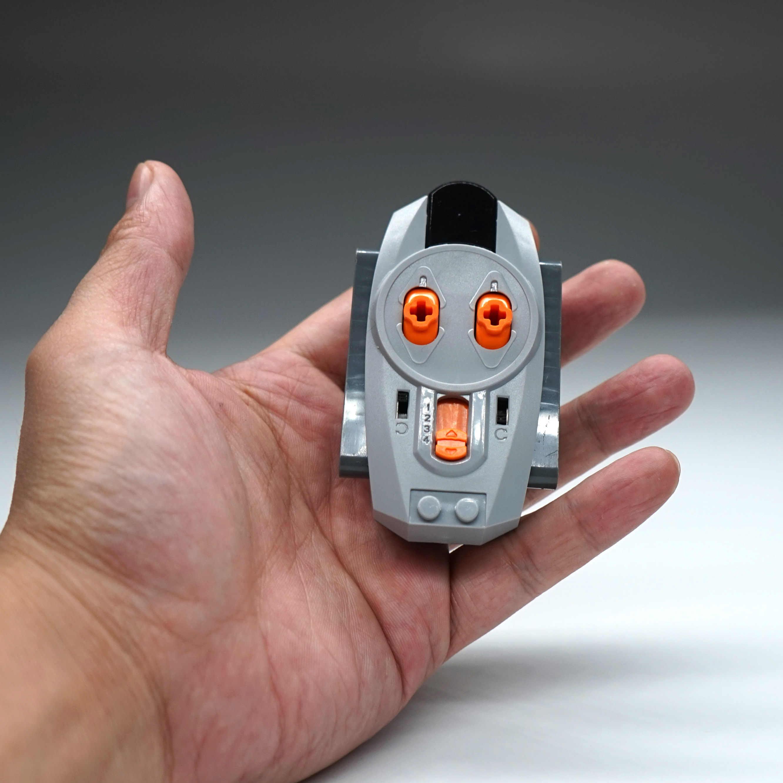 Moteur Technic série Train télécommande boîte de batterie lumière LED fonctions d'alimentation avec Legoinglys MOC blocs de construction jouets