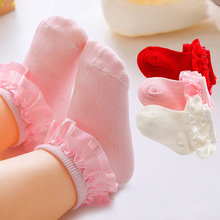 Short Socks Baby-Girl 0-12-Months Lace Spring Newborn-Baby Ruffle Infant Cotton Autumn