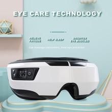 VOCCVIEN Smart Eye Massager Airbag Vibration 5 Modes EyeCare Instrument Heating Bluetooth Music Relieves Fatigue And Dark Circle