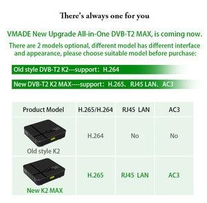 Image 5 - Vmade DVB T2フルhd 1080pデジタル地上波レシーバーdvb t MPEG 4テレビチューナー売掛金サポート3Dインタフェースミニセットトップボックス