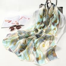 100% Silk Long Scarf Silk Shawls Women Pure Silk Scarves