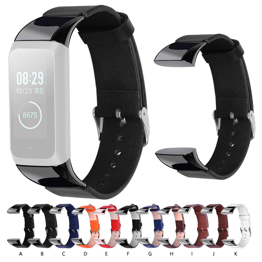 Ouhaobin Watch <font><b>Strap</b></font> For <font><b>Amazfit</b></font> <font><b>COR</b></font> <font><b>2</b></font> Watch leather band Replacement Wrist Watch <font><b>Strap</b></font> Band for smart wristband Accessories image