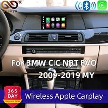 Sinairyu WIFI inalámbrico de Apple Carplay coche jugar para BMW CIC NBT EVO 1 2 3 4 5 7 Serie X1 X3 X4 X5 X6 MINI Android Auto espejo