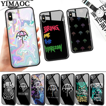 Bring Me the Horizon Dust Glass Phone Case for Apple iPhone 11 Pro XR X XS Max 6 6S 7 8 Plus 5 5S SE