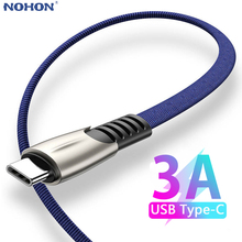 1 2 3 M USB Type C Charger Cable For Samsung S10 S9 S8 Plus Huawei Xiaomi Redmi Mobile Phone Fast Charging Data Cord Long Short cheap Nohon TYPE-C CN (Herkunft) Huawei Zertifiziert 1m 2m 3m Black Blue Red White Type-C Cable USB-C USB Charge Charging Cable