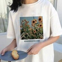 Футболки в стиле Харадзюку женская футболка с принтом букв летние