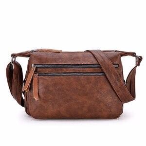 Image 1 - Luxury กระเป๋าถือผู้หญิงกระเป๋าออกแบบ 2019 หญิงหนังนุ่มกระเป๋าสะพาย Sac A หลัก Crossbody กระเป๋าผู้หญิงกระเป๋า Flap vintage