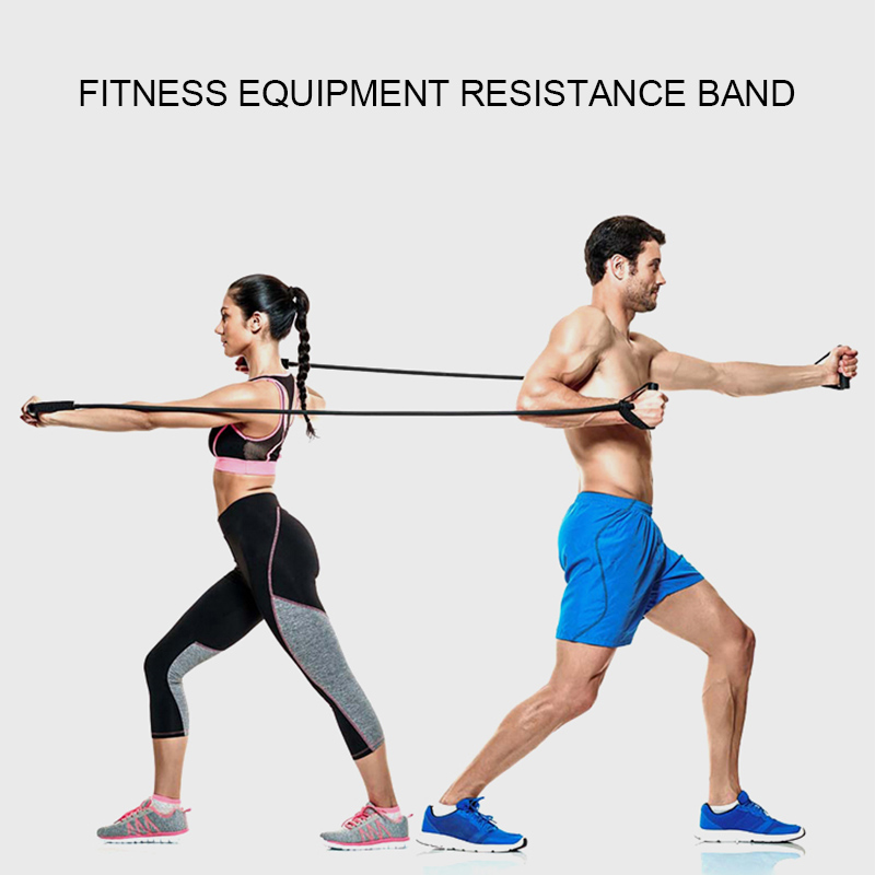 Training Fitness Gum Exercise Gym Strength Resistance Bands Pilates Sport Rubber Fitness Bands Crossfit Workout Equipment