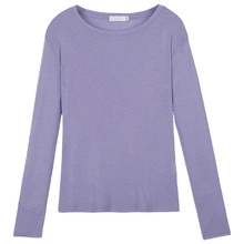 Women T-shirt Basic Solid Color Long Sleeve Tees Woman Simple Round Neck Leisure Thin Casual Tops Fashion Spring T-shirts