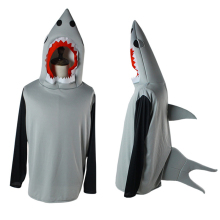 купить Shark Clothing Cosplay Costumes Sharks Hoodie Cosplay Costume Uniform Halloween Carnival Party Anime Game Cosplay Costume по цене 1306.1 рублей