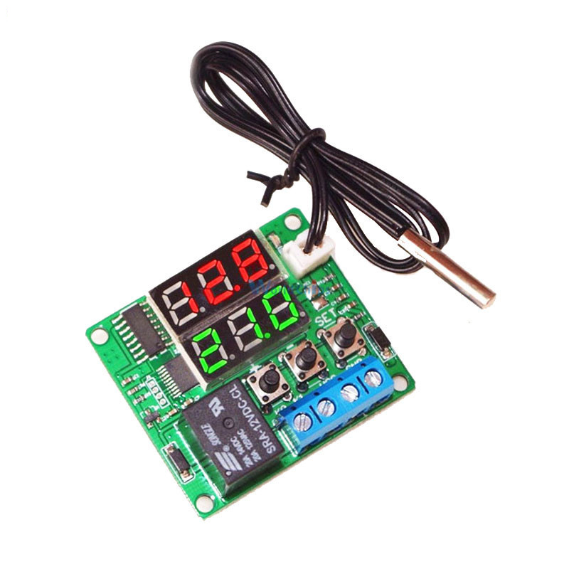 5V Digital Temperature Controller Module Thermostat Switch + Waterproof Mini NTC Temperature Sensor Control Board
