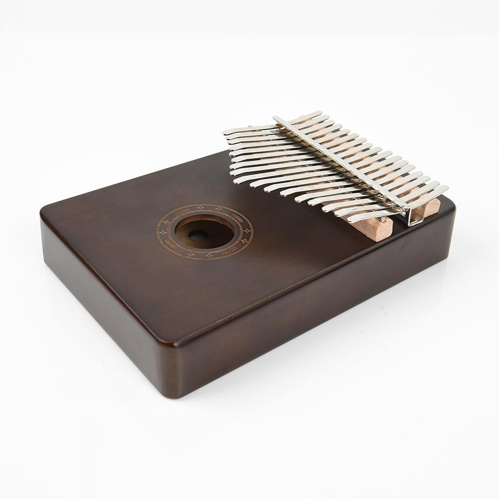 pinha, 17 teclas, kalimba para adultos, instrumento