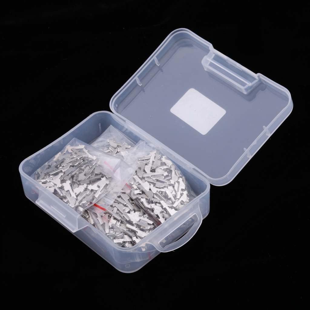 600 Pieces Automotive Car Ignition Lock Barrel Gasket Reed Plate