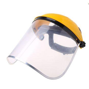 Transparent Full Face Shield Safety Mask Welding Helmet Visor Mask For Automotive Construction