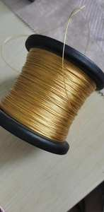 occ gold plated wire 11 core*0.09mm OD:0.62mm 400meters