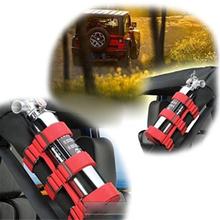 Nylonowe paski czerwona czarna rolka Bar wysokiej jakości pasek gaśnica pasek mocujący akcesoria do stylizacji wnętrza samochodu tanie tanio INSEET CN (pochodzenie)