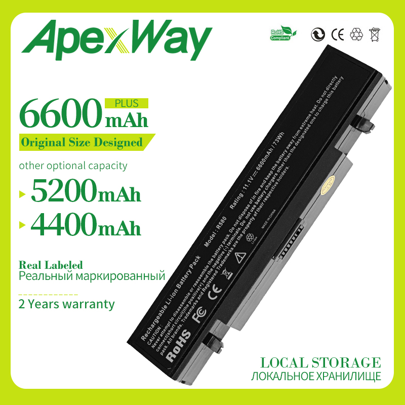 11.1V 6CELL R428 Laptop <font><b>Battery</b></font> For <font><b>Samsung</b></font> AA-PB9NS6B PB9NC6B R580 R540 <font><b>R519</b></font> R525 R430 R530 RV511 RV411 RV508 R528 Aa Pb9ns6b image