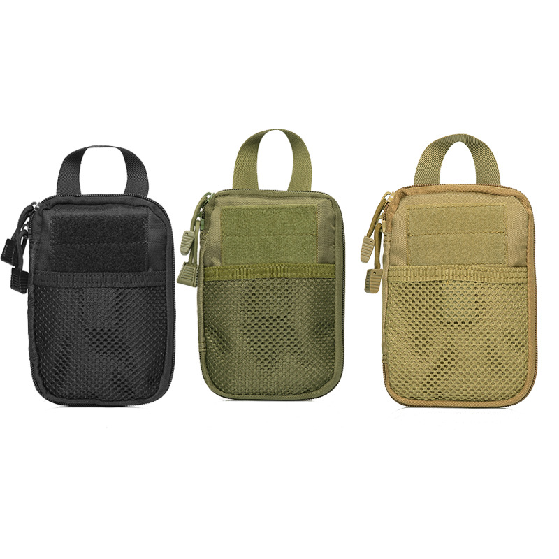Pocket Wrap Men's Nylon Handbag Key Ditty Bag Multi-functional Molle Tactical Attached Accessories Bag Storgage Bag