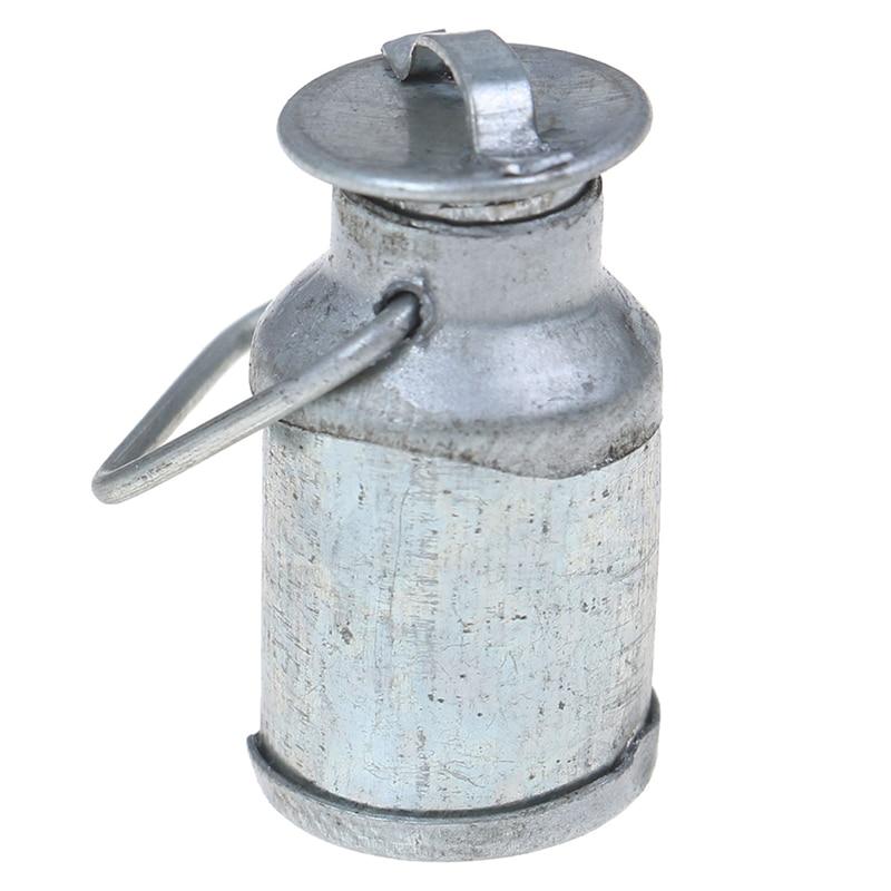 1/12 Dollhouse Miniature Milk Jug With Lid Bottle