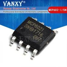 10 個MCP602 sop MCP602I sop 8 MCP602 I/sn SOP8