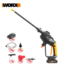 Washing-Cleaner-Machine Car-Washer Worx Hydroshot WG620E.3 High-Pressure Portable Wireless