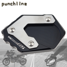 Fit For R1250GS 2018 2020 R 1200 GS LC 2013 2018 R1200GS Rallye 2016 2019 kickstand sidestand stand extension enlarger pad