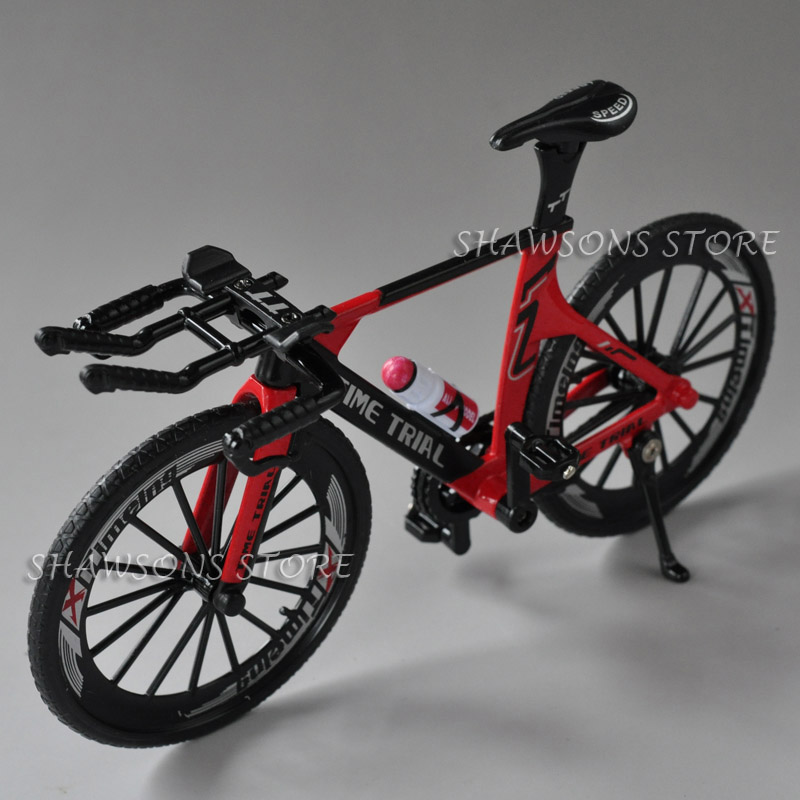 1:10 Diecast Metal Bicycle Model Toys Racing Bike Replica Collection