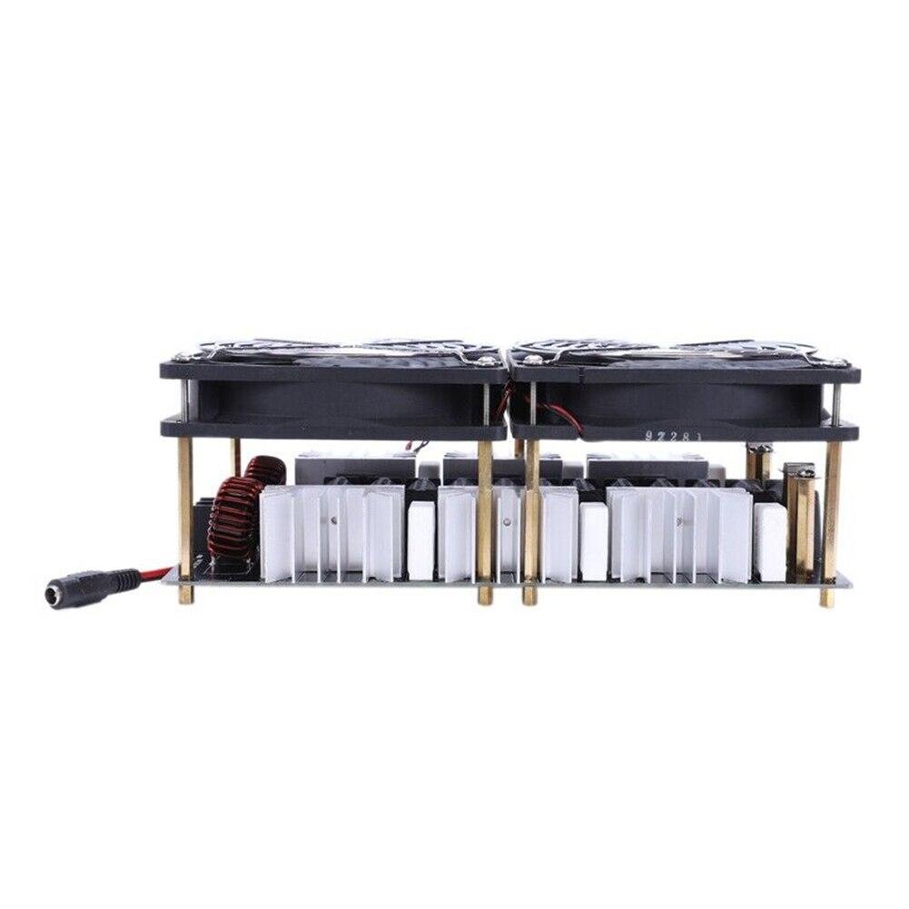 12 48V 2500W ZVS Durable carte PCB haute fréquence professionnel électronique Induction chauffage Flyback pilote bricolage bobine de bois - 5
