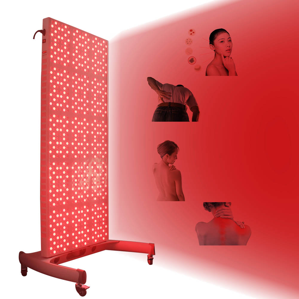1000W Full Body Skin Care Pain Relief Red Near-infrared Light 850-660nm Pdt Led Light Therapy Panel For Health And Skin Care