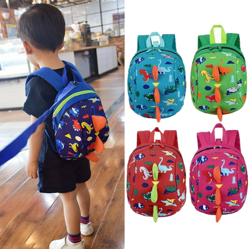 Baby Accessories Infant Baby Anti-Lost Dinosaur Backpack Safety Walking Harness Leash For Kids