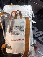 Heron Preston US Space Printed Women Men Bucket bag Schoolbag Hiphop Streetwear Men Shouder Bags Backpack