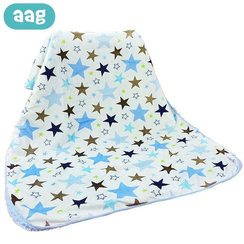 AAG Baby Blanket Newborn Lamb Cashmere Diapers Swaddle Kids Baby Bath Blankets Newborn Receiving Blanket Wrap Cocoon Wholesale