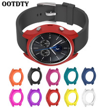 OOTDTY Soft Silicone Cover Case For Samsung Galaxy Gear S3 Classic SM-R770 Smart Watch