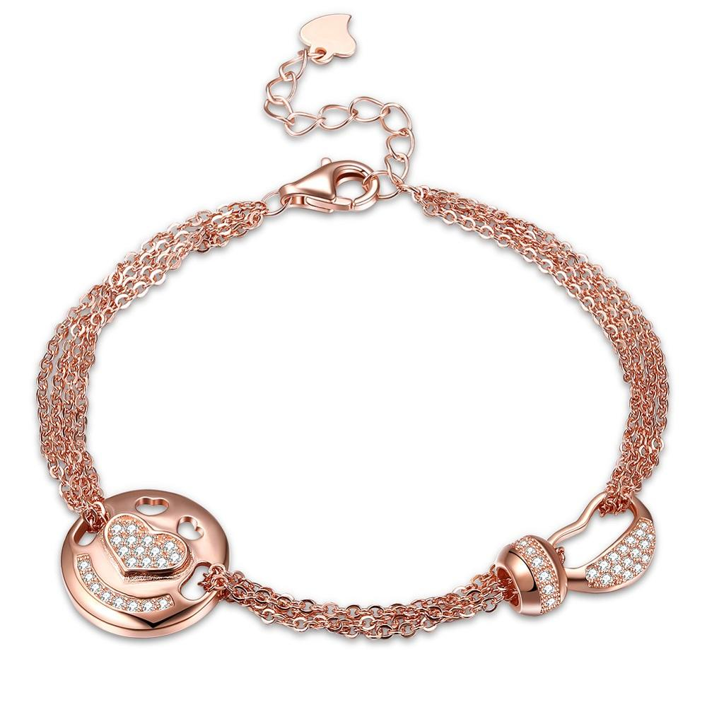 2019 Promotional Casual Fashion Elegant Yellow Gold Women Luxury Bracelet Bangle Jewelry in Chain Link Bracelets from Jewelry Accessories