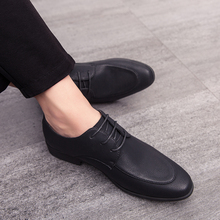 Summer Shoes Men Dress Formal Business Work Soft Patent Leather Pointed Toe For Man Oxford Flats Zapatos