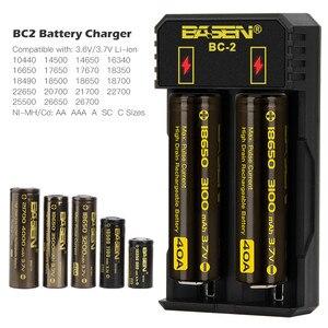 Image 3 - Battery Charger 18650 26650 21700 Li Liion Batterij Smart Charger Met Charger Eu Usb Kabel Lithium Batterij 5 V 2A Muur Adapters