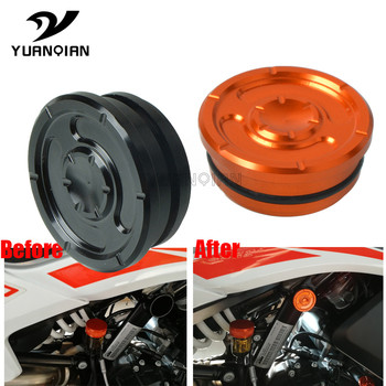 Motorcycle Frame Hole Cover Caps Plug Kit Decor moto Swing Arm Plugs For KTM 790 adventure R S