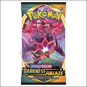 Карты Pokemones TCG меч и щит темноты Ablaze Booster Box Multi