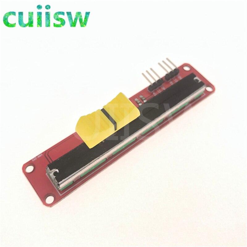 10PCS Electronic slider 10K potentiometer Slider Module for Arduino  new