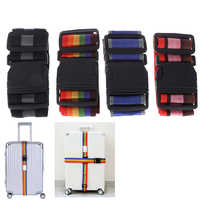 1PC Luggage Strap Cross Belt Packing 180CM Adjustable Travel Buckle Baggage Belts
