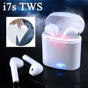 Original i7s Tws Mini Wireless Bluetooth In-Ear Headphones for iPhone Android Samsung PK i14 i18 i30X i11 i12 PRO image