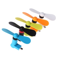 180 Rotating Micro USB Cooling Fan For Samsung Xiaomi Huawei Android Phone mini micro usb electric fan cell phone cooling for android phone for samsung for htc for lg