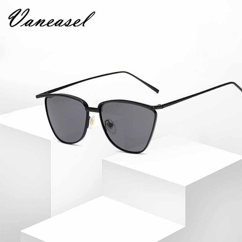 VANEASEL 2019 новые модные квадратные солнцезащитные очки для женщин мужчин Очаровательный Сплав Vantage маленькие Горячие Оттенки высокое качество Oculos de sol UV400