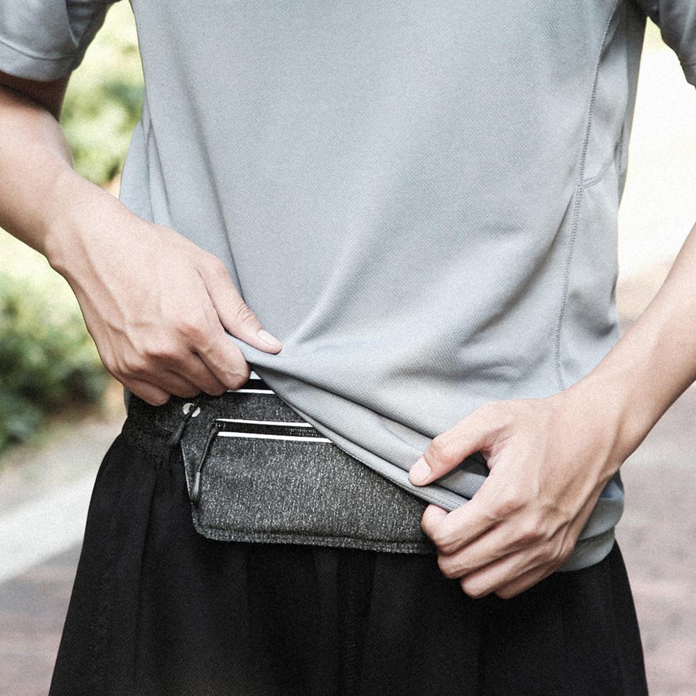 Waist Bag Fanny Pack For Women Men Bum Money Dual Pocket Running Belt Bag Strap Waterproof 2020 Unisex Pouch Bag