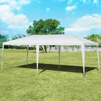 Costway 10'x20' Outdoor Party Wedding Tent Heavy Duty Canopy Pavilion
