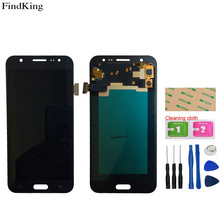 TFT OLED Mobile LCD Display For Samsung Galaxy J5 2015 J500F J500 LCD Display Assembly Touch Screen Digitizer Sensor + Tools