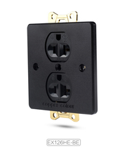 Copper Colour EX126 HE-BE Beryllium alloy Power wall socket HiFi Audiophile cheap None Non-Grounding Electrical Plug
